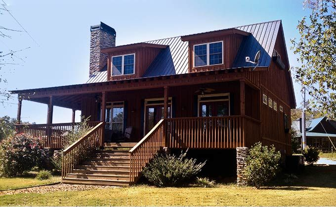 Rustic cottage house plans with porches houses pinterest for Cabin house plans with porches