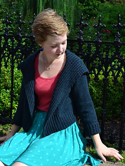 Knitty : ... variegated wool for it. Eisen cardigan from Knitty First Fall 2012
