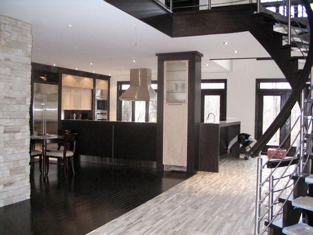 Salle De Bain Carrelage Parquet : cuisine  Cuisine  Pinterest