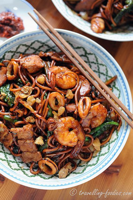 吉隆坡福建炒麺 KL Hokkien Mee | Asian Delights | Pinterest