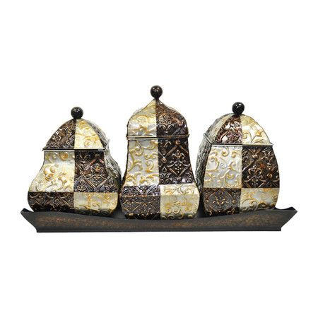 elegant stenciled canister set kitchen decor pinterest 17 best images about tiffins lunch box carrier japanese