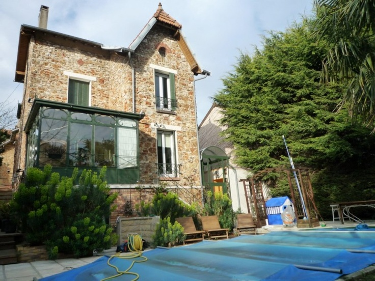 Meuliere veranda a l 39 ancienne maisons de campagne countryside - Veranda maison ancienne ...