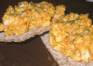 Smoky Deviled Egg Salad | Scrumptious Sides | Pinterest