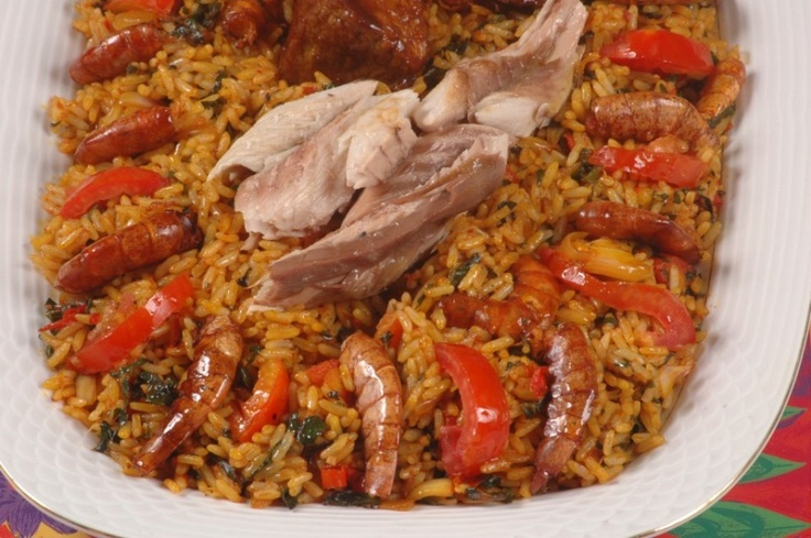 Jollof Rice | Traditional African Dishes/ Nigerian Recipes ...