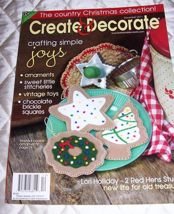 Create decorate country primitive crafts magazine the for Create and decorate magazine free