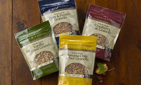 use great tasting combinations of whole grains, nuts and dried fruit ...