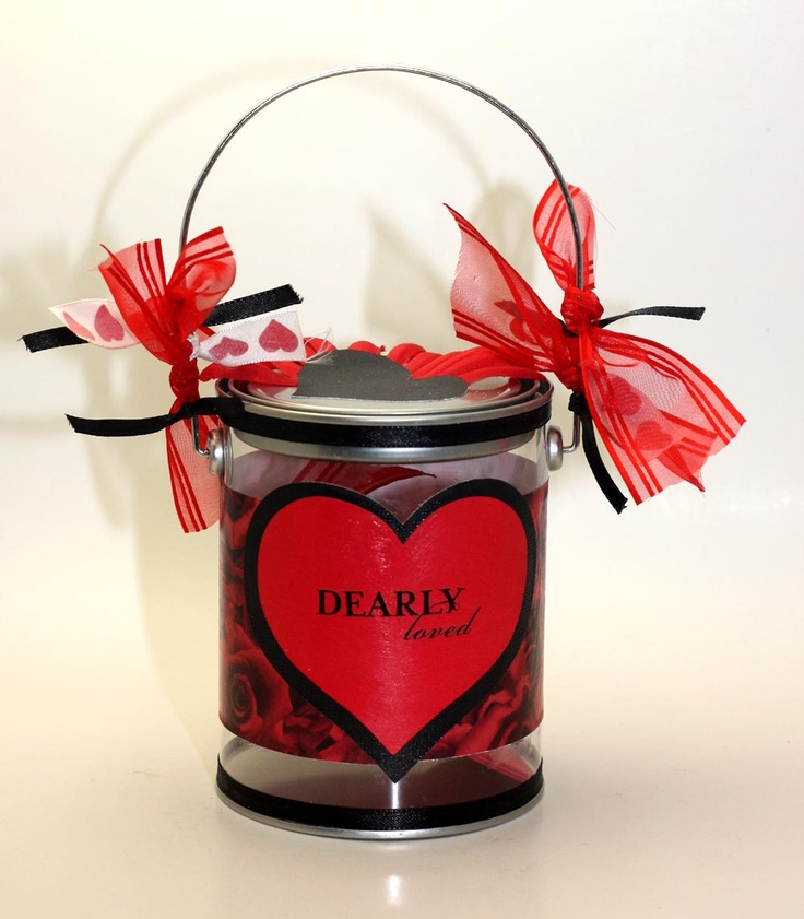valentine box oatmeal container