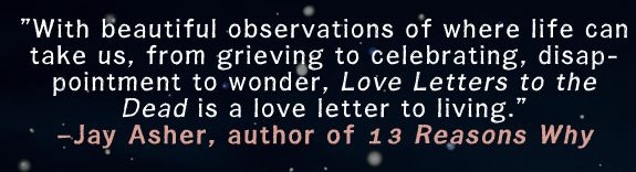 Jay Asher Loves LOVE LETTERS TO THE DEAD