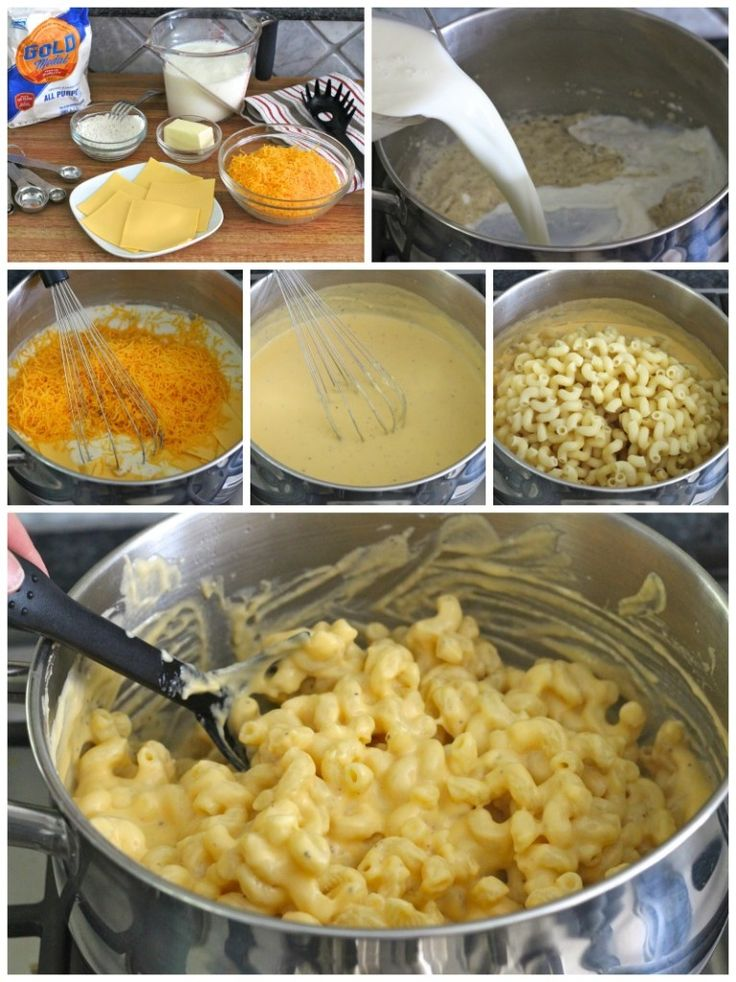 Stovetop Macaroni and Cheese | Food for us | Pinterest