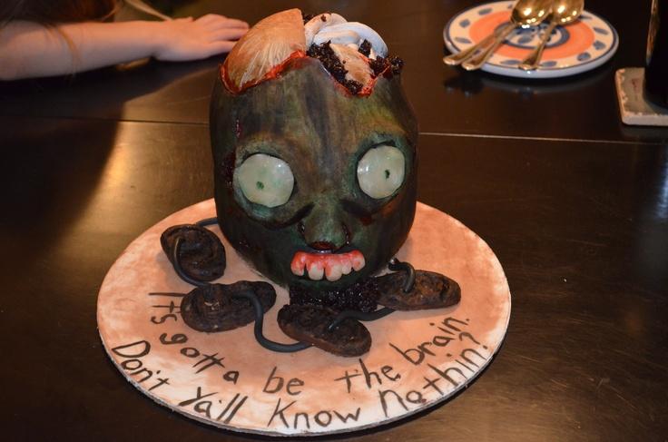 Zombie Head cake 2012