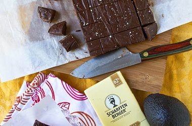 Chocolate Avocado Fudge — Punchfork | Gluten-free | Pinterest