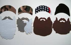 Duck Dynasty Beard Printable