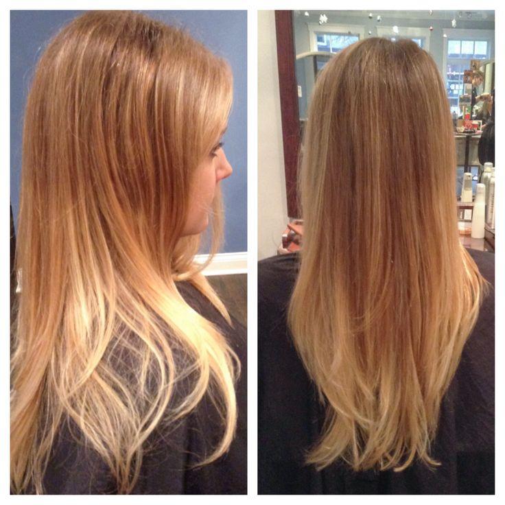 Golden Brown Ombre Hair Golden blonde ombr by liz