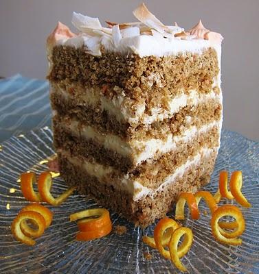 Coconut Orange Carrot Cake   Carrots   Pinterest