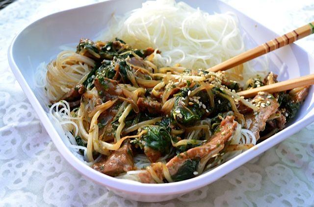 Korean Beef Stir-Fry   Tips From Town   Favorite Recipes   Pinterest