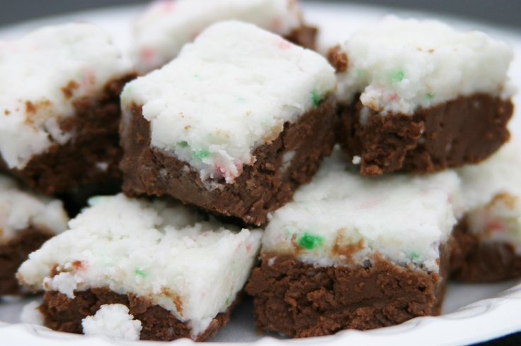 peppermint fudge, o why did I pin this? Now I'll have to try it