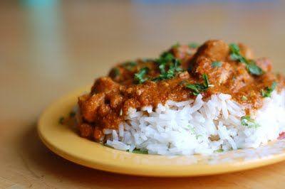 Crockpot Coconut Chicken Curry