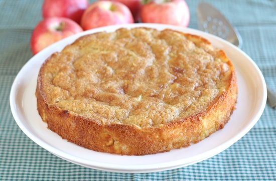Marie Helene's Apple Cake