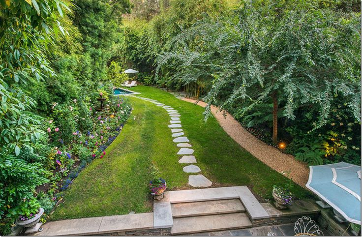 Long Narrow Backyard Design Ideas : Landscaping Landscape Ideas Long Narrow Backyard