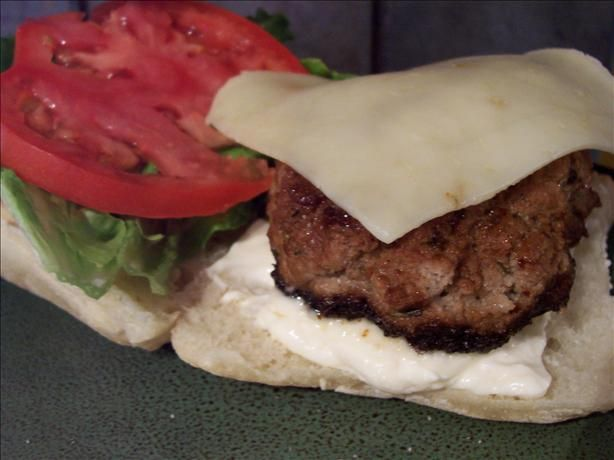 World s Best Turkey Burger from Food.com: Yes, there is a turkey ...