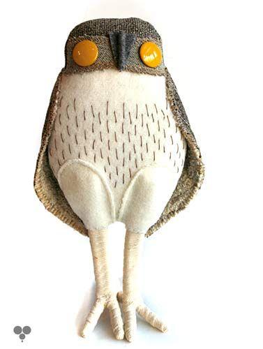 Super cute owl craft. No instructions, though. :(