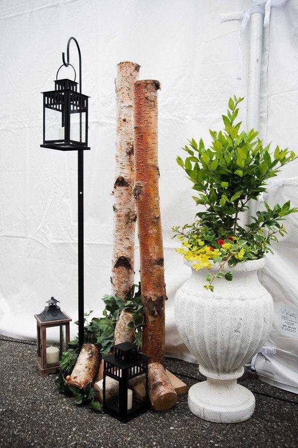Decorating with tree stumps wedding ideas pinterest - Tree stump decorating ideas ...