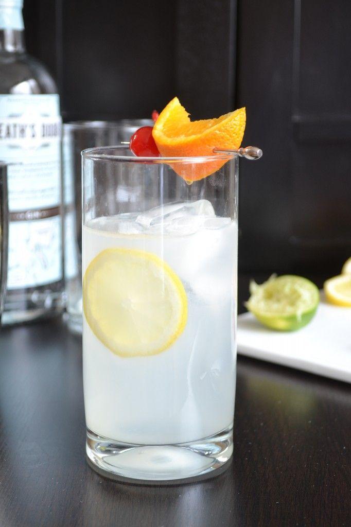 The Original Tom Collins Cocktail   Liquid Assets - Beverages   Pinte ...