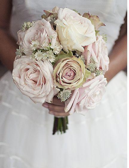 Vintage Floral Wedding Bouquets : Vintage look for lexi