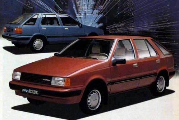 1985 Hyundai Pony | Hyundai Heritage Models | Pinterest