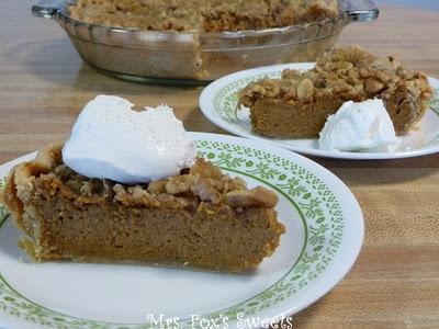 maple walnut pumpkin pie | Bakeshop Cakes and Pastries | Pinterest