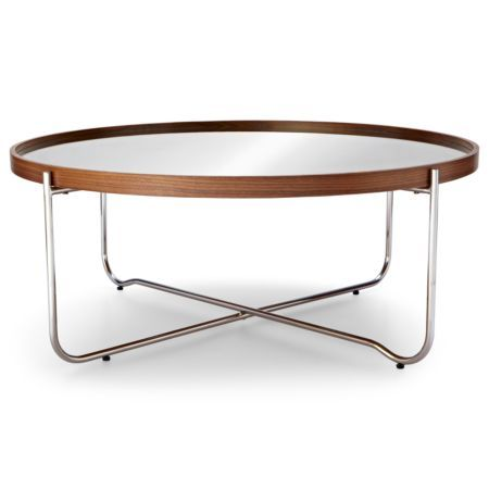 Happy Chic By Jonathan Adler Bleecker Mirrored Coffee Table