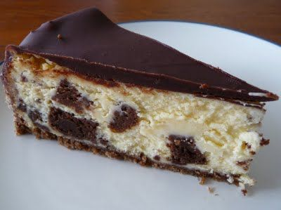Brownie Mosaic Cheesecake | ~CHEESECAKE~ | Pinterest