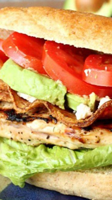 Cobb Salad Sandwich | Recipe