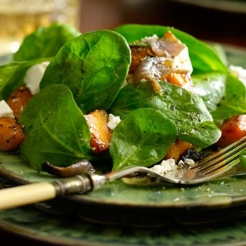 "Roasted Sweet Potato and Feta Salad | ""Good For You"" Food 