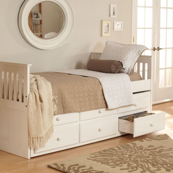 Have to have it. Woodcrest Ethan Mission Trundle Bed  For the Home ...