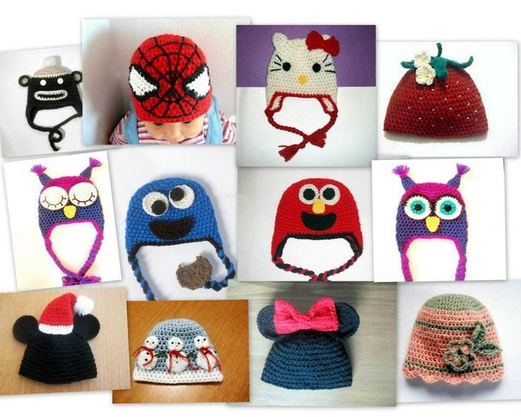 Character hat patterns
