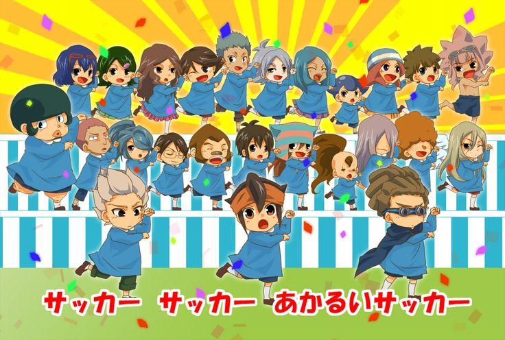 Inazuma eleven chibi inazuma eleven pinterest for Domon x ichinose