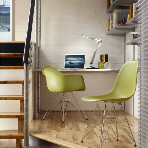 Eames Molded Plastic Side Chair & Eames Plastic Chairs|YLiving