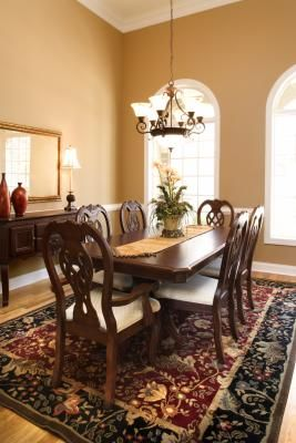 How to Get White Spots From Heat Off Dark Dining Wood Furniture