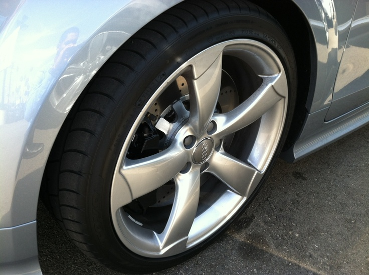 2013 Audi Tt Rs You Ll Need These Sticky Tires When The