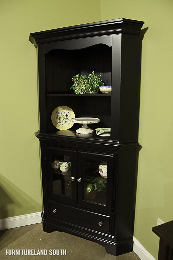 BLACK CORNER DISPLAY CABINET - Google Search : Furniture : Pinterest
