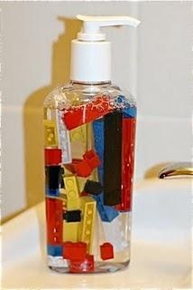 soap...cute for kids bathroom...put in tiny superheros or ponies...