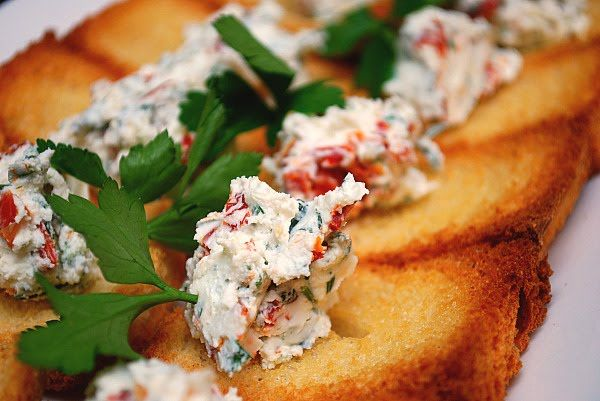 Herbed Goat Cheese Bites | Food & Drink | Pinterest