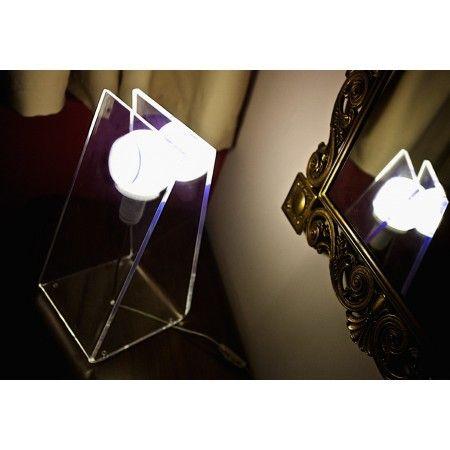 Lampada in plexiglass - Soft  Complementi di arredo in plexiglass ...