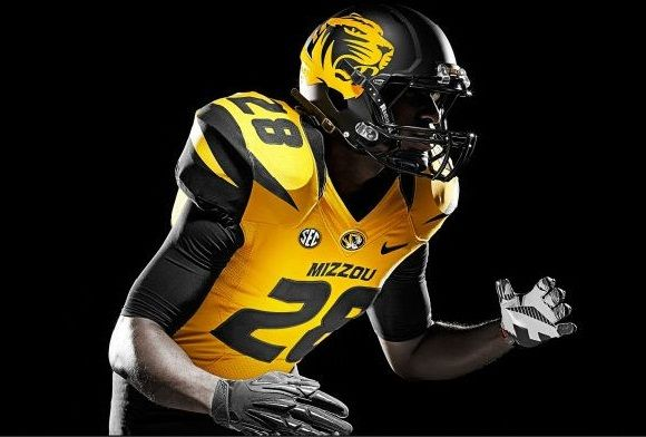 New College Football Uniforms: Missouri