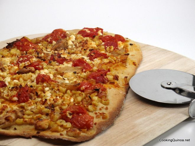 Quinoa Flatbread Pizza