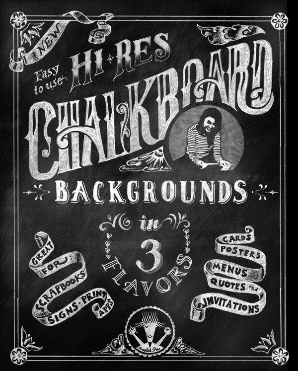 High-Res Chalkboard Background
