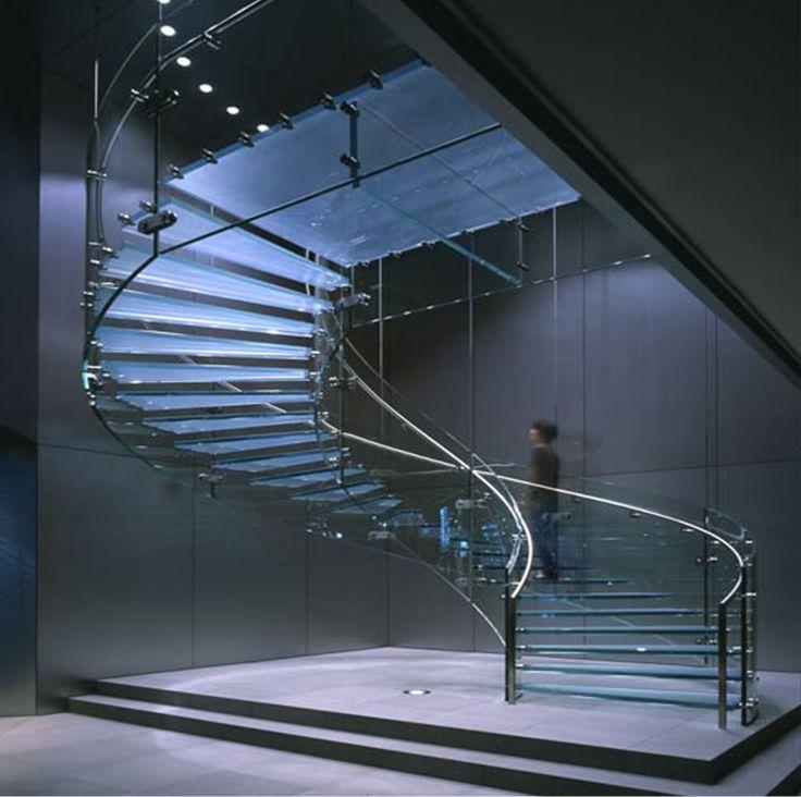 Glass stairs www glasone