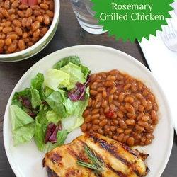 Honey, Lemon & Rosemary Grilled Chicken | Paleo Mains - Chicken | Pin ...