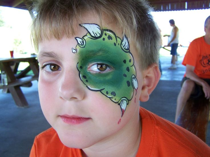 Face Painting Ideas for Dinosaur Party